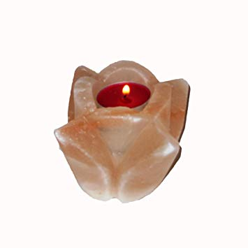 himalayan candle holder