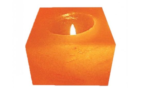 himalayan salt candle